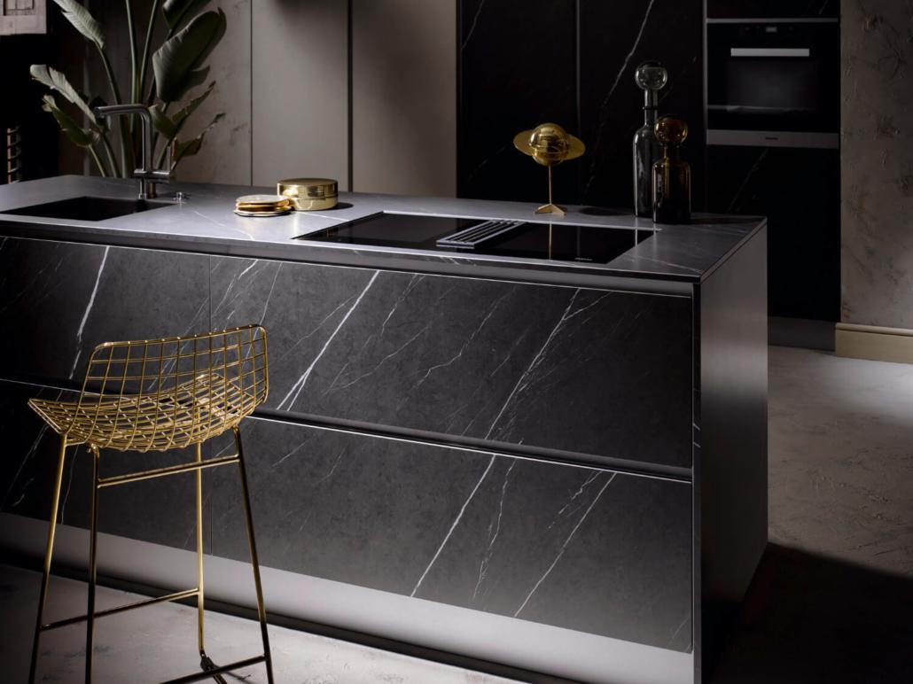 Küche Graphite Stone / Echtbeton Natur