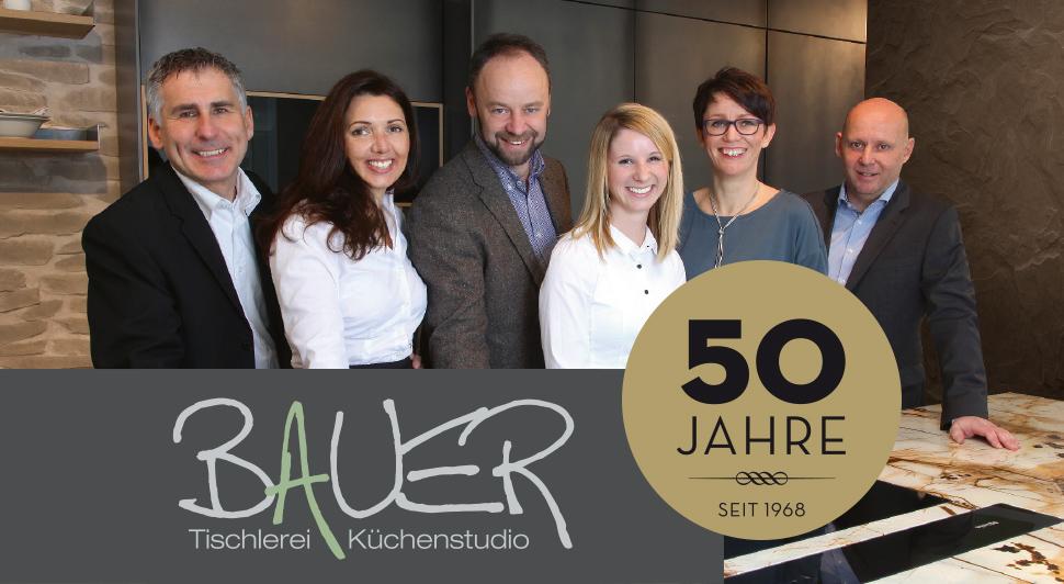 50 Jahre Tischlerei Küchenstudio Bauer