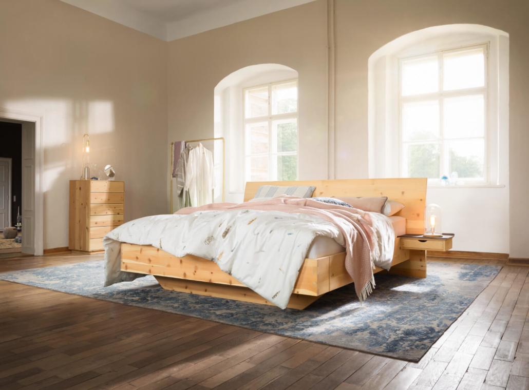 ANREI Paso Zirbe natur Schlafzimmer