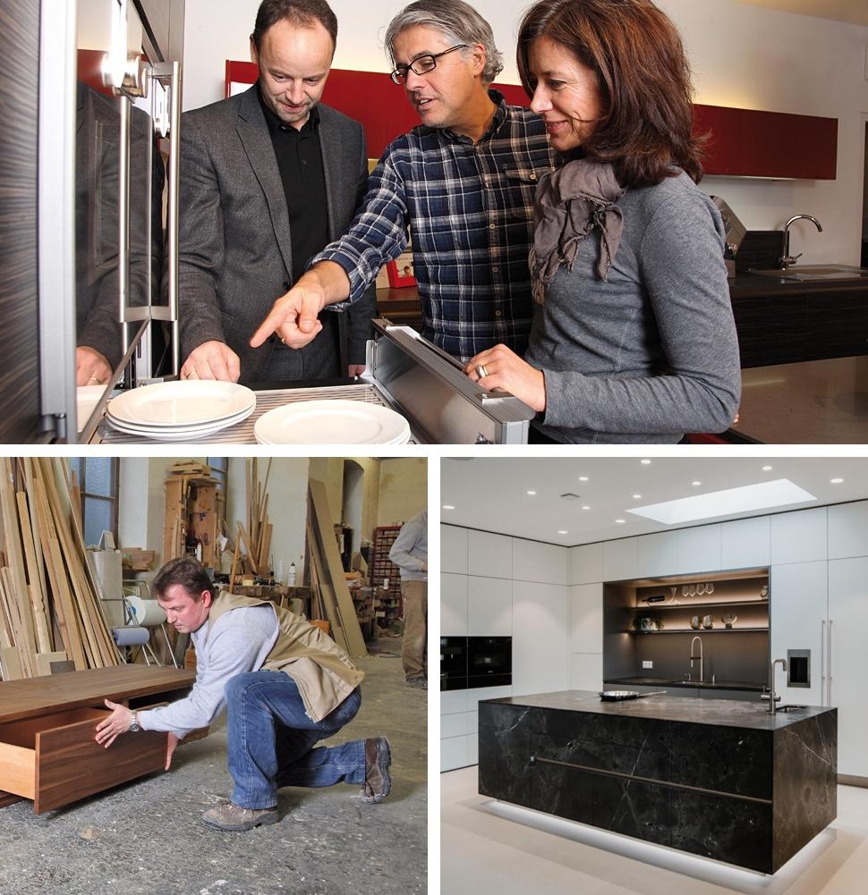 Küchenplanung bei der Tischlerei Bauer